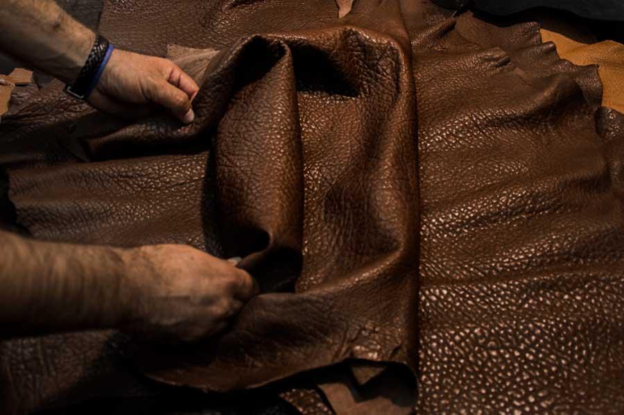 Pele Castanha Textura