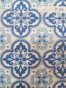 Cortiça Azulejo e Português P34