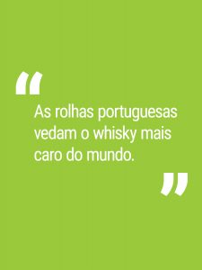 As rolhas portuguesas vedam o whisky mais caro do mundo.